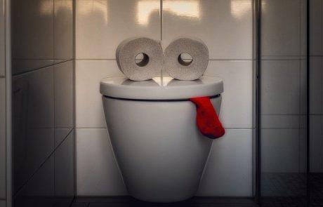 איך להמנע מסתימה בשירותים