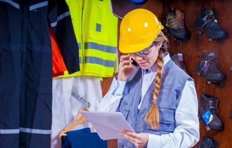 נעלי עבודה ושימוש נאות בציוד מגן אישי במקום העבודה