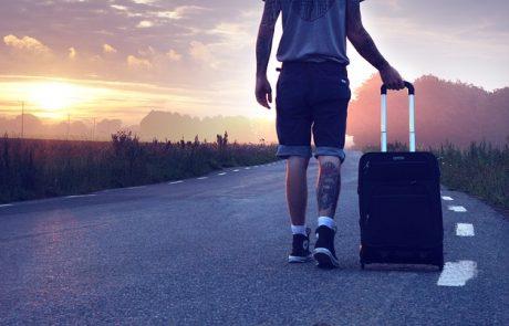 גבר, טס לחו״ל? מחפש מזוודות לגברים?