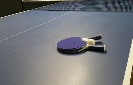 שולחנות טניס כמו של המקצוענים
